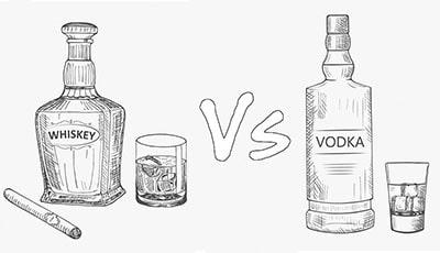 Мини водка и виски – основные отличия