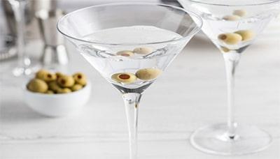 Мини чем закусывают мартини