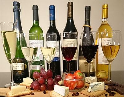 Мини виды дегустации вин