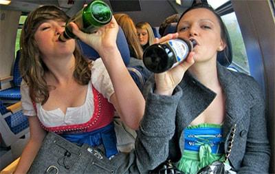 Пить или не пить в поезде превью